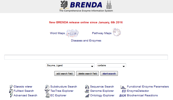 brenda start page