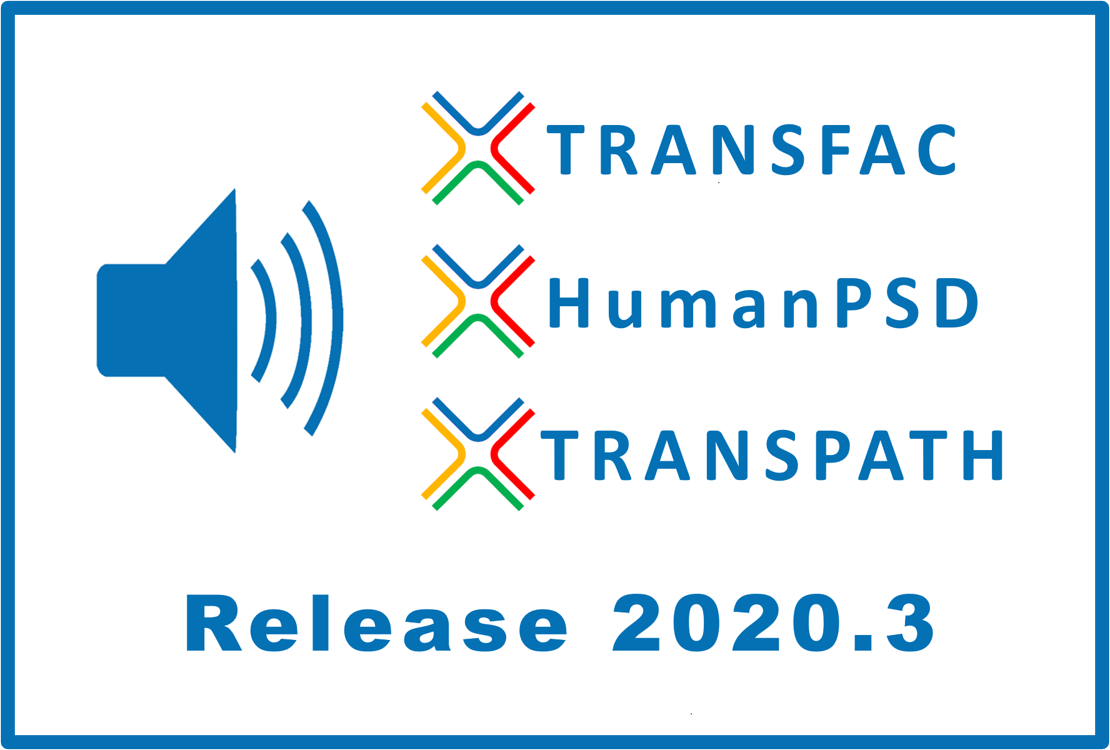 Databases release 2020.3